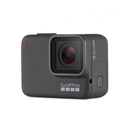 GoPro HERO7 Silver - 4K екшън камера за заснемане на любимите ви моменти (сребрист)