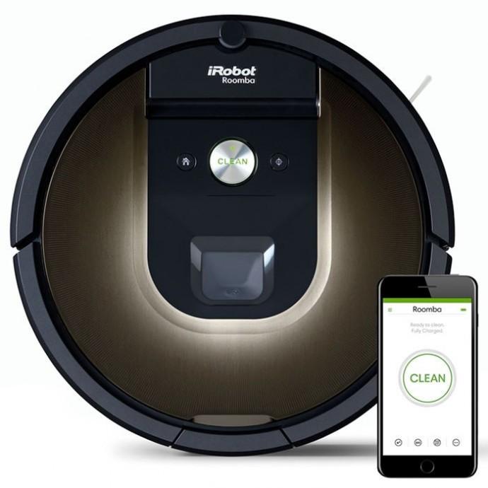 iRobot Roomba 980 прахосмукачка робот почиства площ до 185 кв.м
