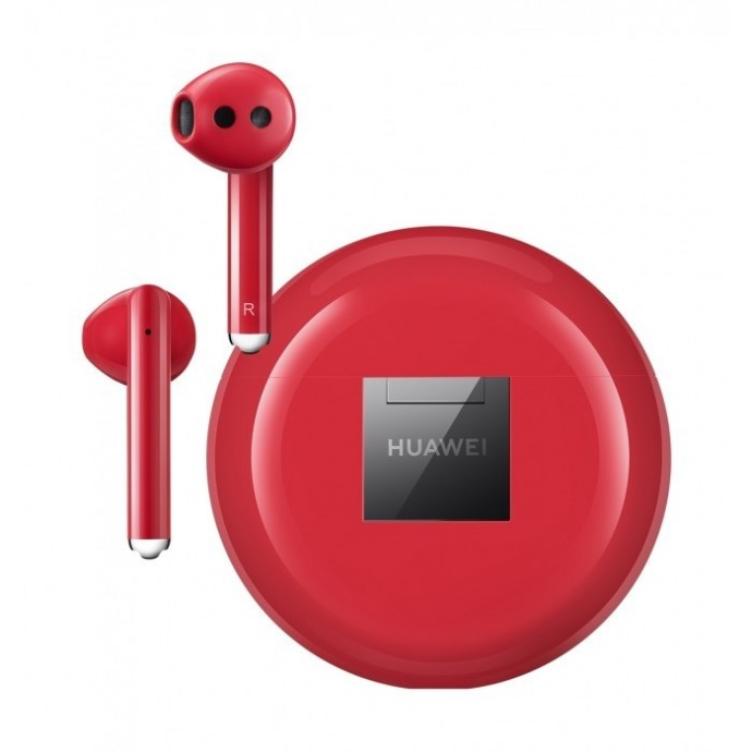 Bluetooth слушалки Huawei FreeBuds 3 - red