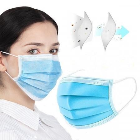 Трипластова санитарна  маска  10 броя