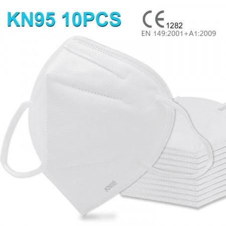 Четирипластова санитарна респиратирна маска KN95
