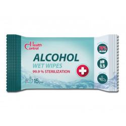 Дезинфекциращи антибактериални мокри кърпи с Етанол 70%