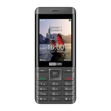 MAXCOM MM236 DS BLACK/SILVER